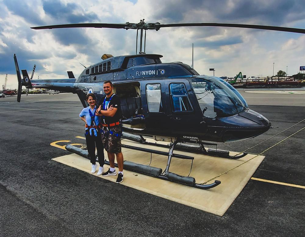 helikopter nowy jork