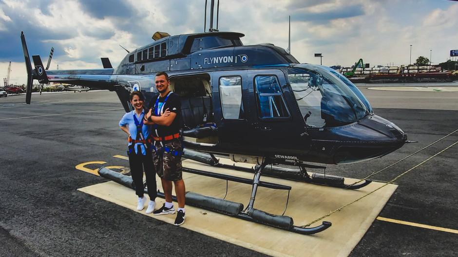 Lot helikopterem nad Nowym Jorkiem - wskazówki