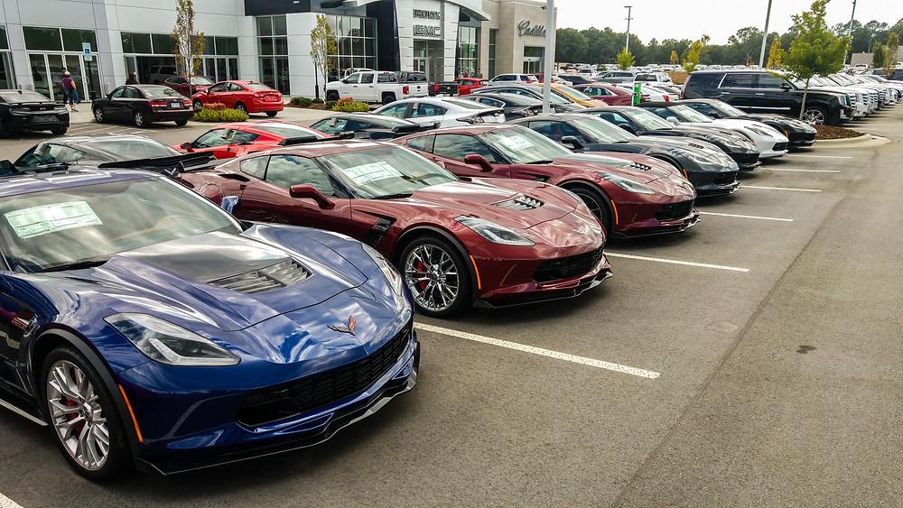 chevrolet corvette supercar sportscar dealership usa america