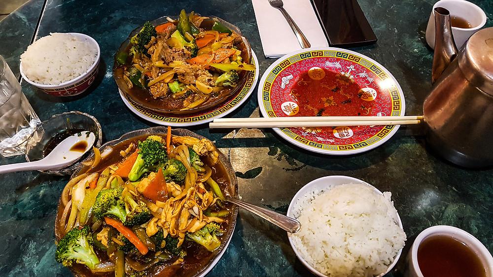 streetfood chinatown express waszyngton ameryka jedzenie w usa