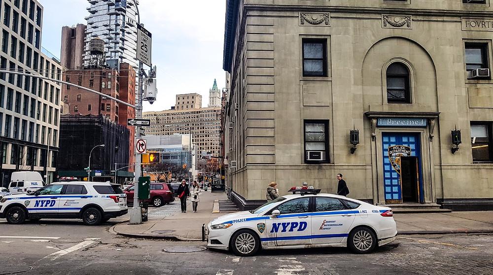 nypd new york police nowy jork usa manhattan policja