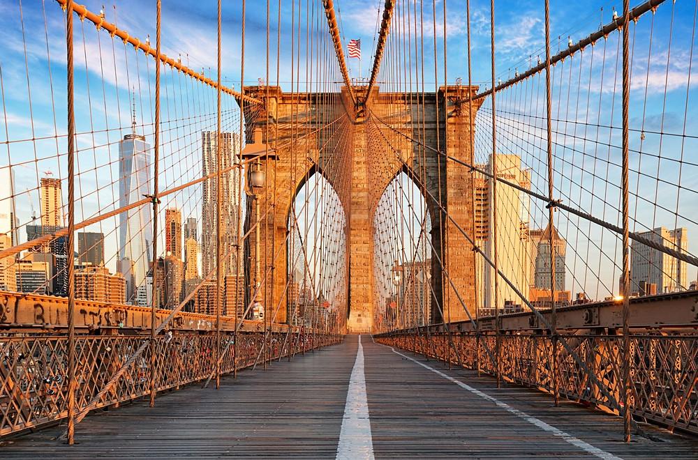 brooklyn bridge most brooklyński