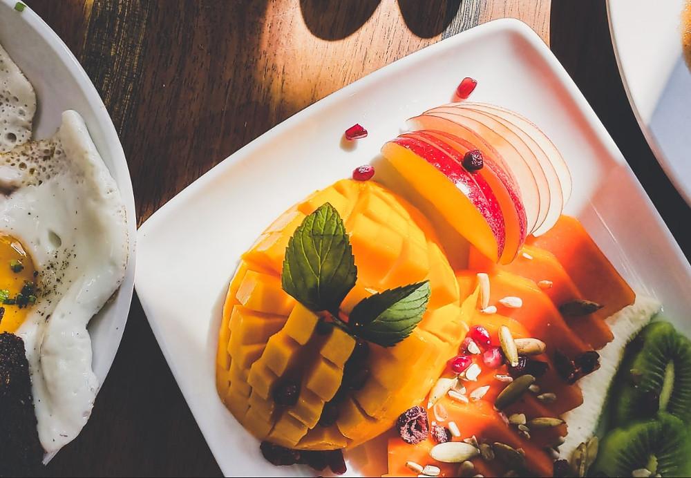 świeże meksykańskie owoce