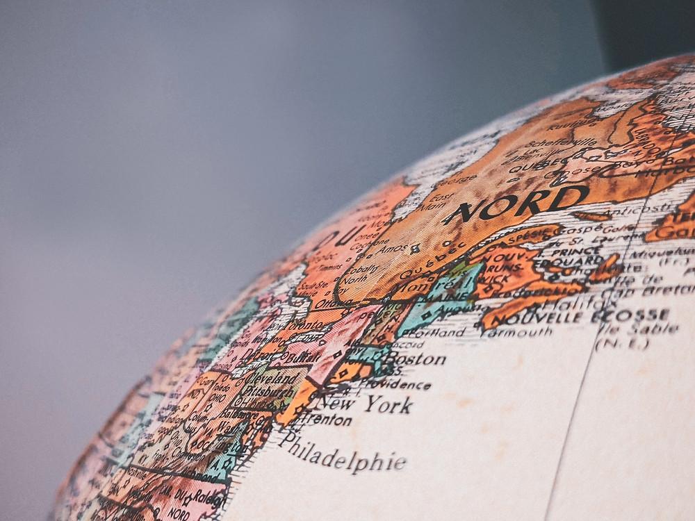globus ameryka