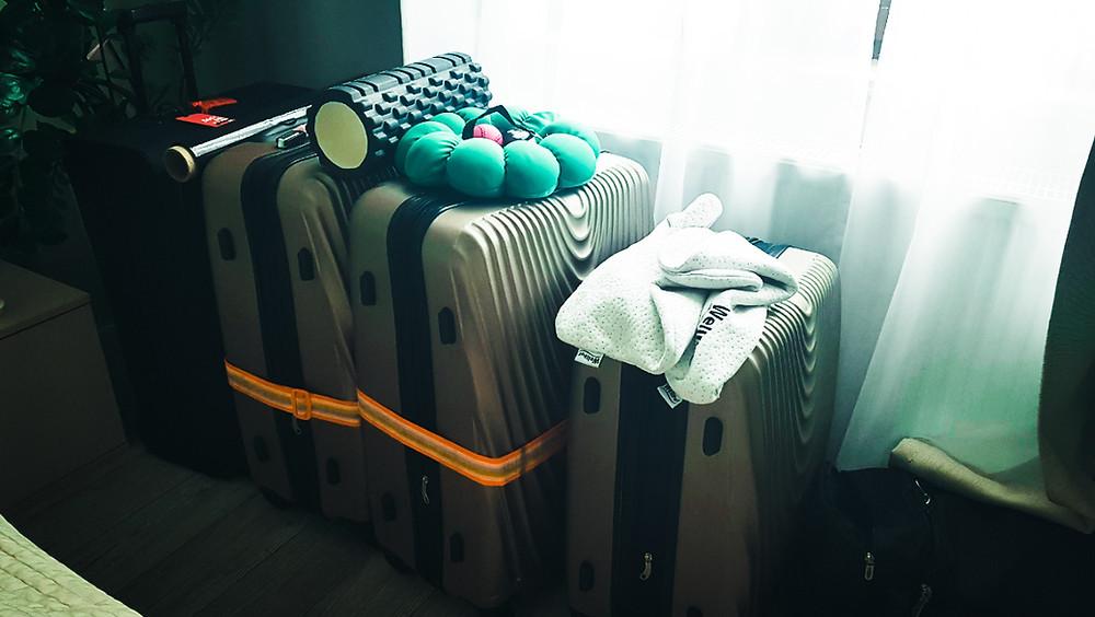 spakowane walizki wylot wyjazd usa stany zjednoczone ameryka