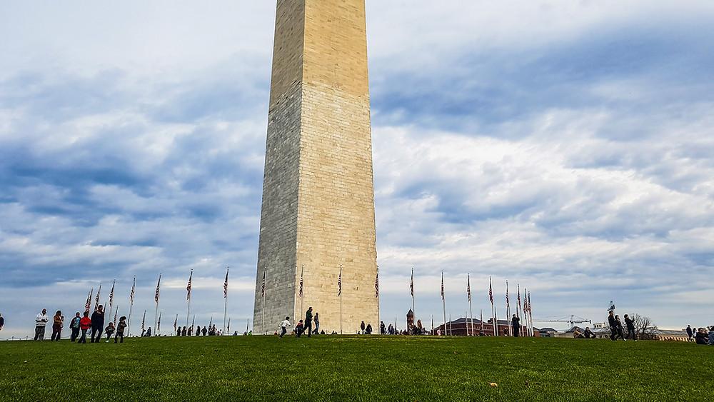 washington memorial pomnik waszyngtona usa ameryka stolica stany zjednoczone