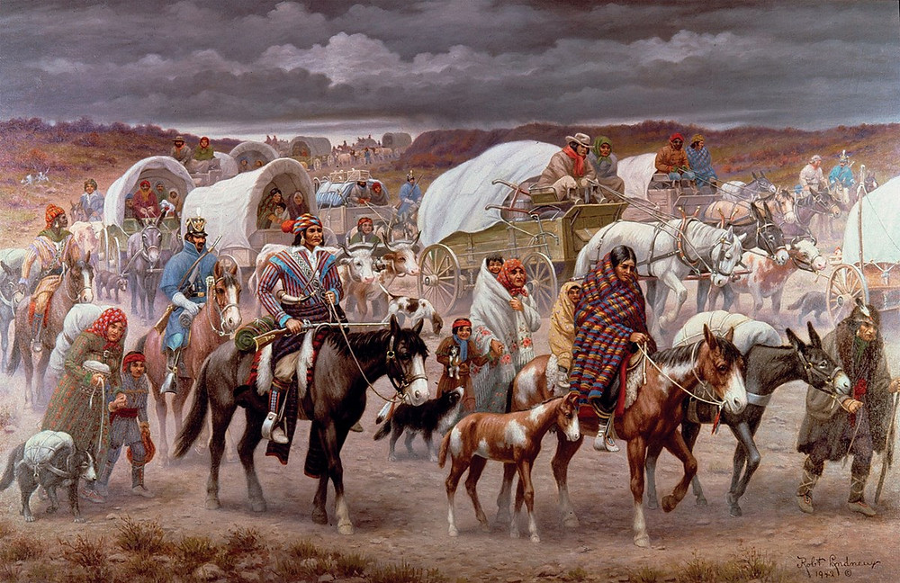 trail of tears cherokee native indian