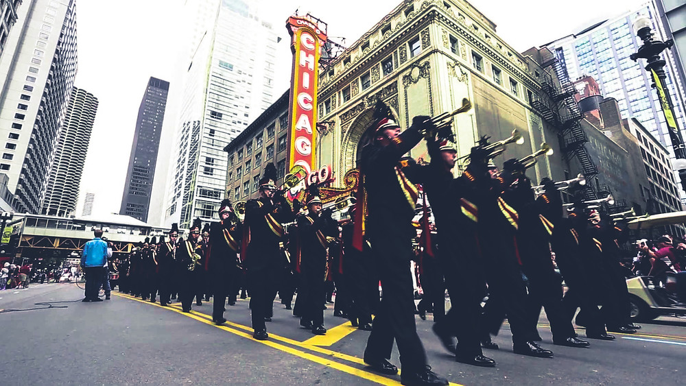 columbus day parada w chicago
