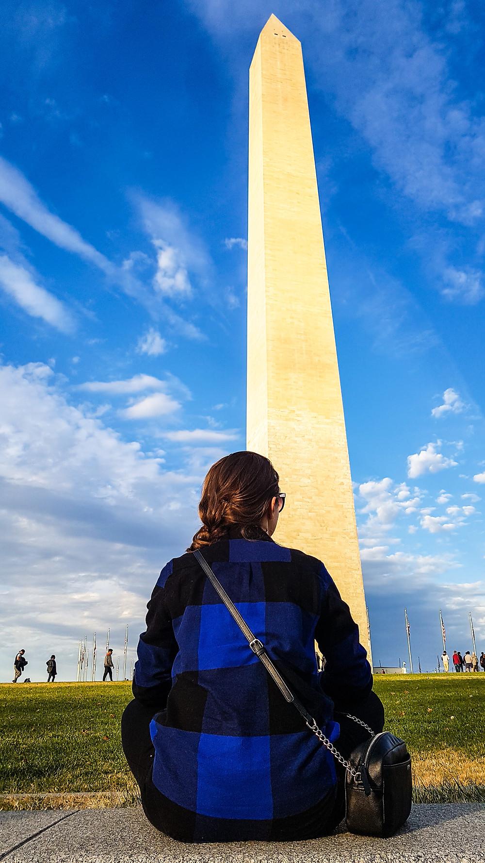 pomnik waszyngtona washington memorial usa stany zjednoczone ameryka