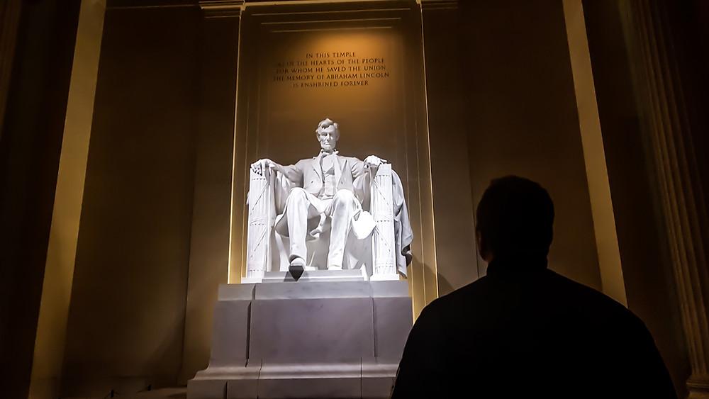 lincoln memorial waszyngton usa historia ameryki stany zjednoczone
