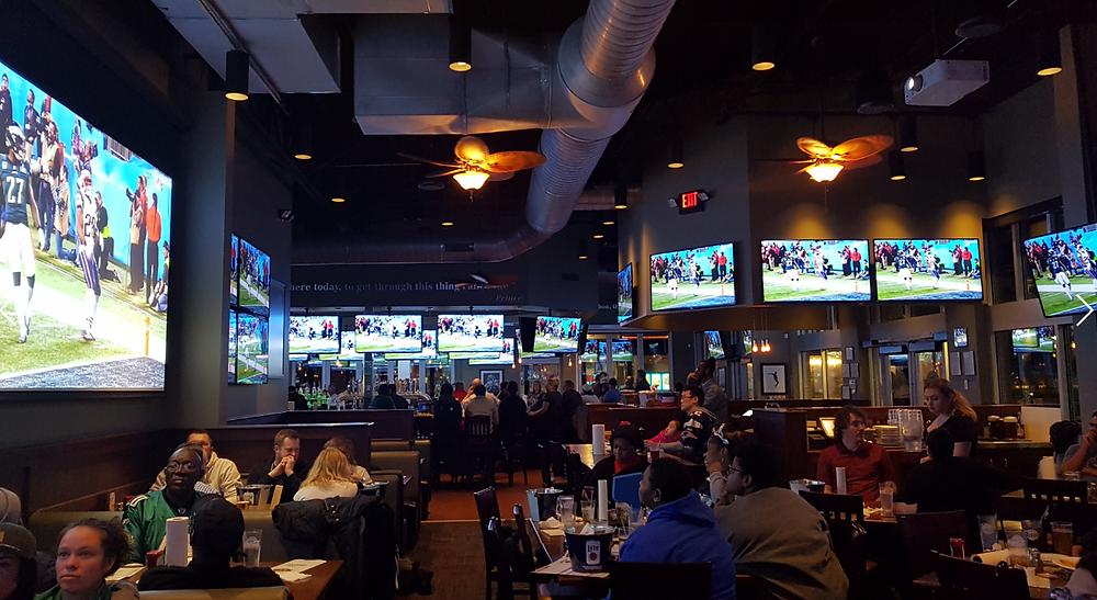 bar restaurant usa ameryka stany zjednoczone piwo jedzenie picie
