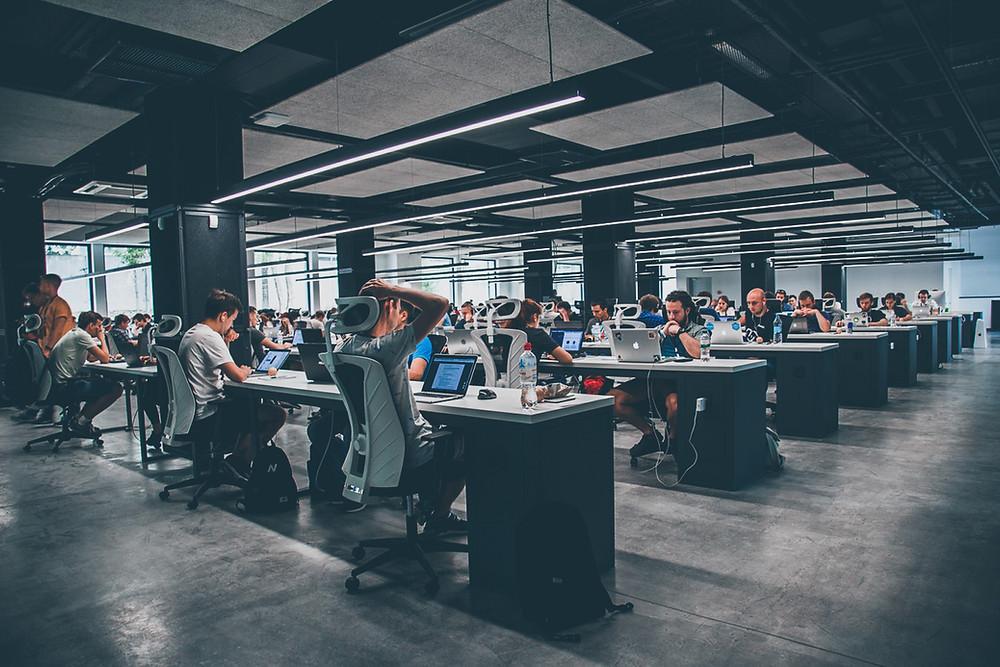 open space w korporacji
