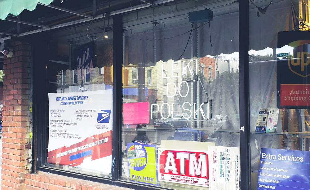 polska apteka w greenpoint nowy jork brooklyn