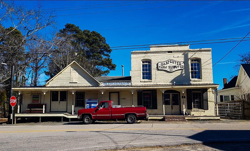 NC Północna Karolina Dixie North Carolina Carpenter USA Ameryka Pickup redneck Stany Zjednoczone