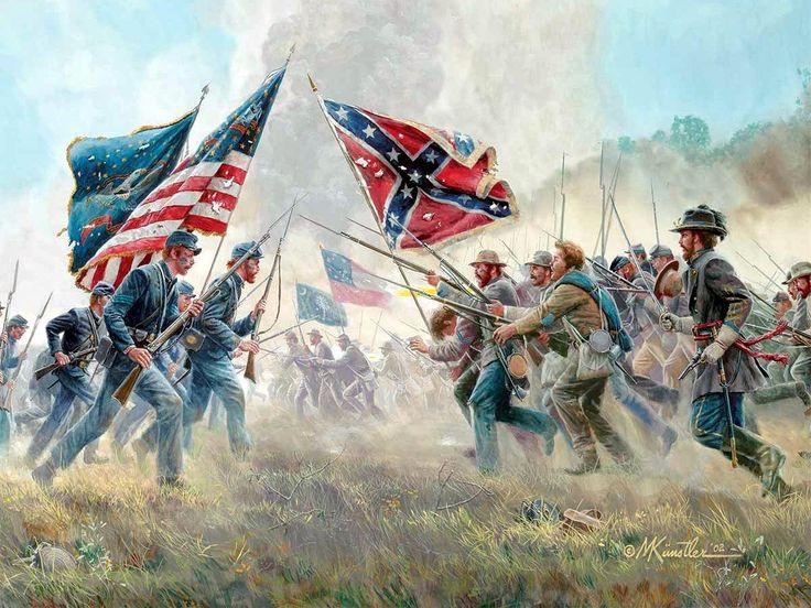 wojna secesyjna konfederaci
