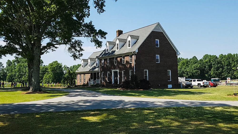 farma phillips usa ameryka stany zjednoczone karolina północna dom na farmie pole truskawek