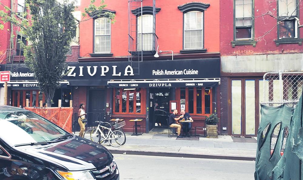 polska restauracja w nowym jorku greenpoint brooklyn
