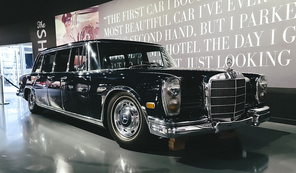 mercedez benz 600 elvis presley