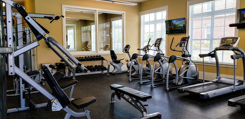 mieszkanie w usa ameryka stany zjednoczone siłownia gym clubhouse trening