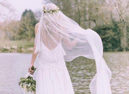 El Ajuar de la Novia --> Mantilla Española para el Vestido. Qué es y porqué se utiliza?