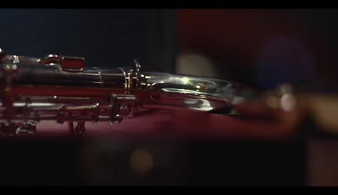 Flaming Saxophone