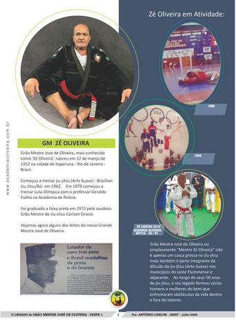 Historia do Gão Mestre José de Oliveira