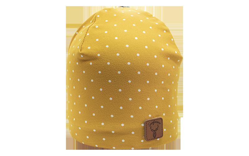 Picotée moutarde