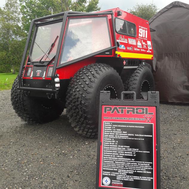 Patrol ATV launch