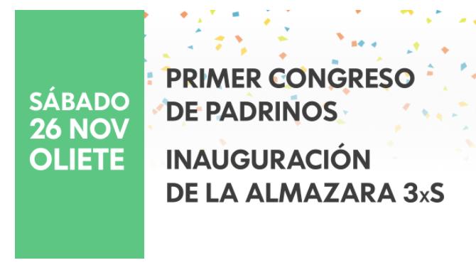 doingforGOOD os invita al I Congreso de Padrinos de nuestro querido proyecto Apadrinaunolivo.org