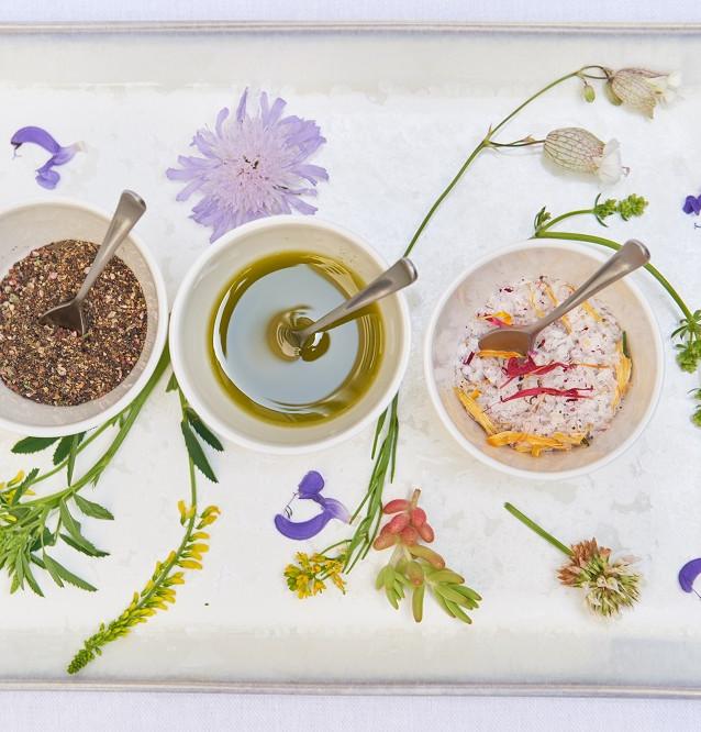 Heuöl Wasserpfeffer Blütensalz