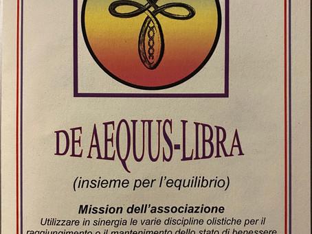 DE AEQUUS-LIBRA insieme per l'equilibrio
