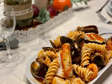 Pasta e Pesce con chef Bonetto