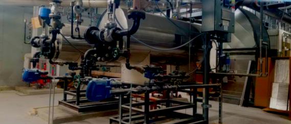 Two Clean Steam Generators