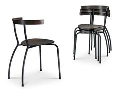 Cafe stol model Chess. Stabel stol