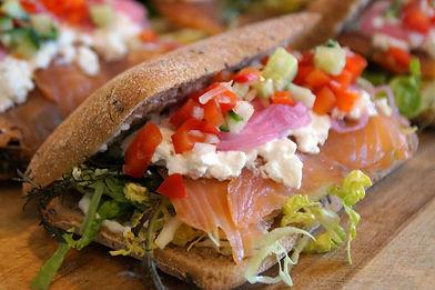 Smørrebrød og sandwich ud af huset Vejle
