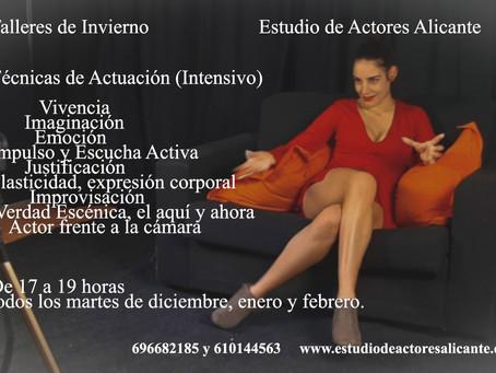 Estudio de actores.Alicante.
