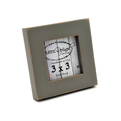 "3x3 Gallery 1"" picture frame - Gray Green"