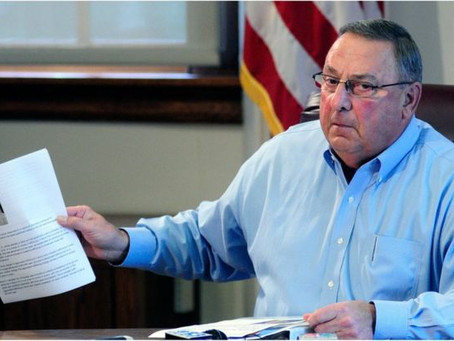 """""""People of color are the 'Enemy' right now in Maine; Shoot Them..."""" Rants The Governor Paul LePage"""