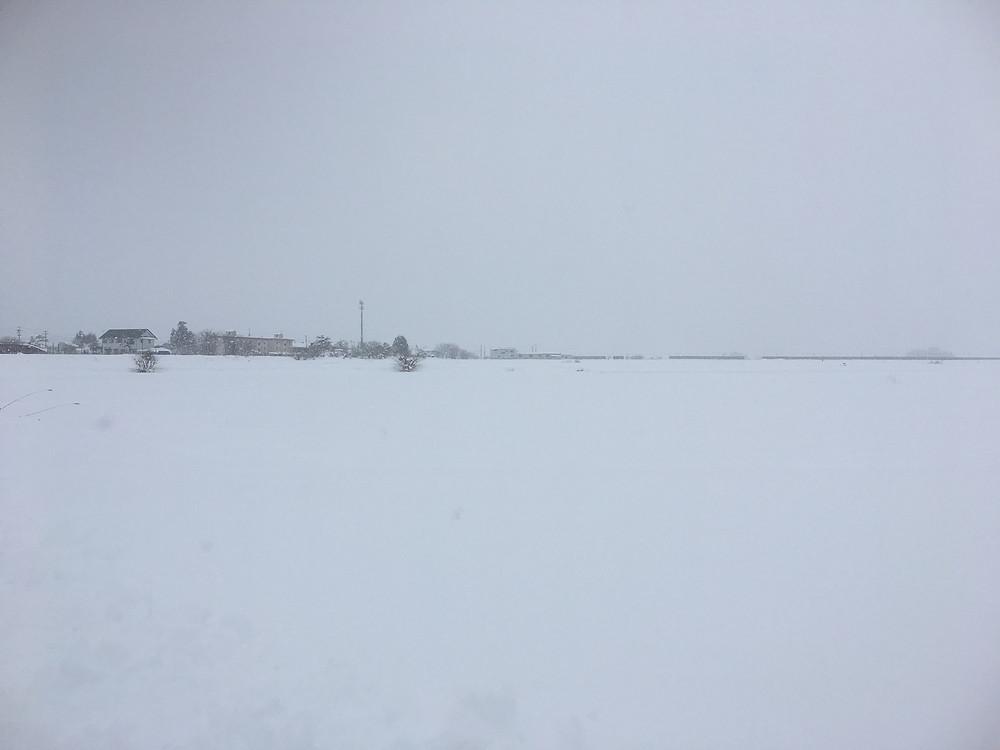 会津の雪景色