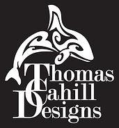 Thomas Cahill Designs Orca Whale Lgog