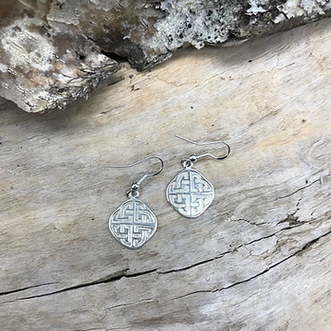 "Sterling Silver Celtic ""Mystic"" Earrings"