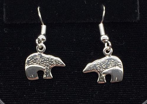 Sterling Silver Mother & Cub Earrings