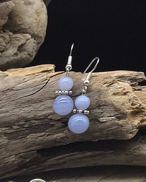 Blue Lace Agate & Sterling Silver