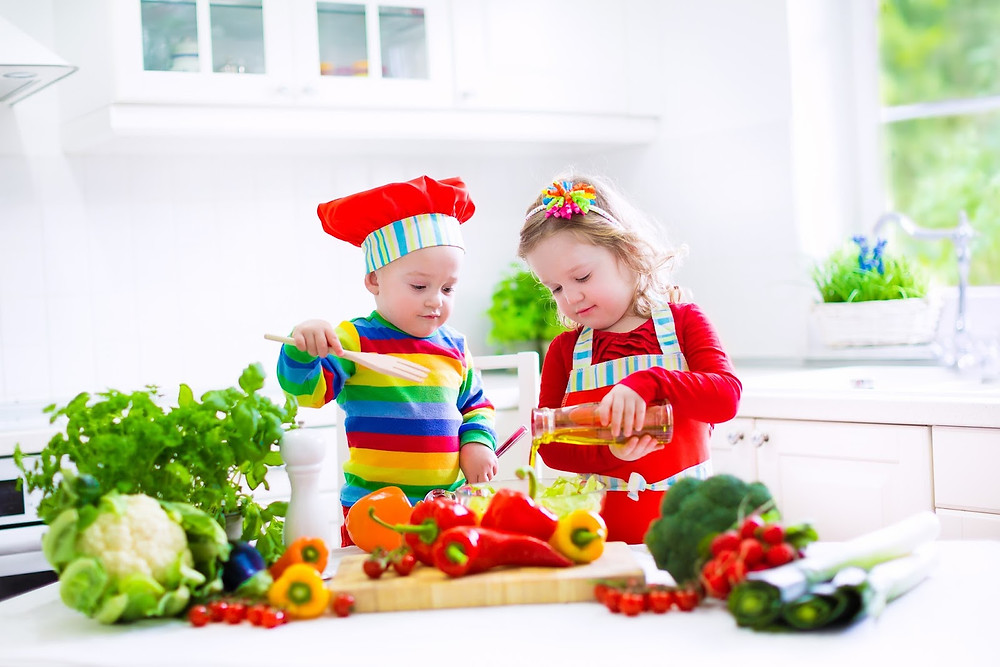 http://www.cooksmarts.com/cooking-guides/healthy-cooking-with-kids/