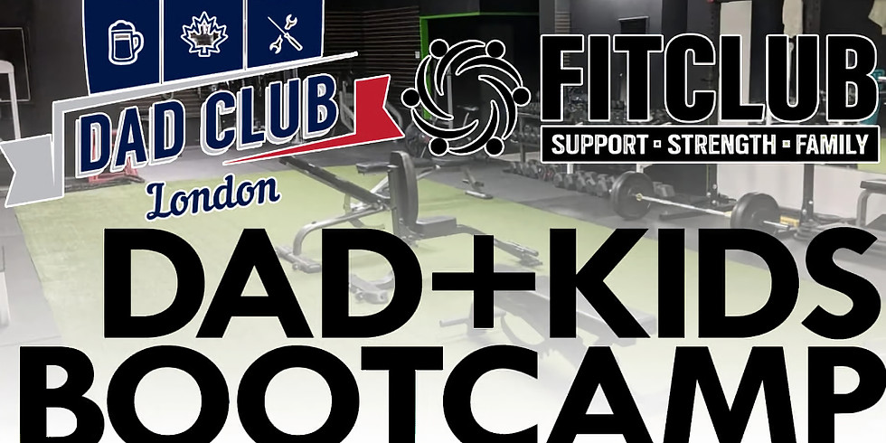 Dads and Kids Do Bootcamp!