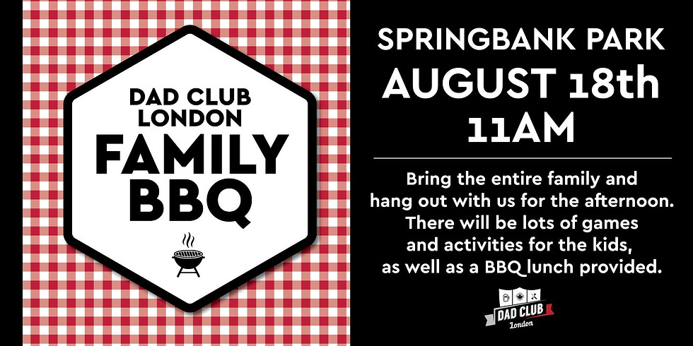Dad Club London Family BBQ