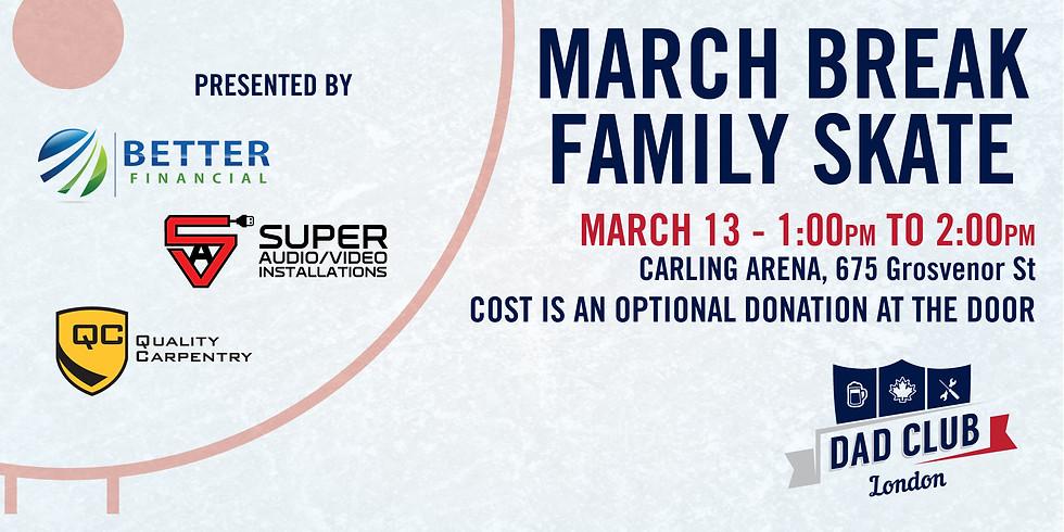 March Break Family Skate