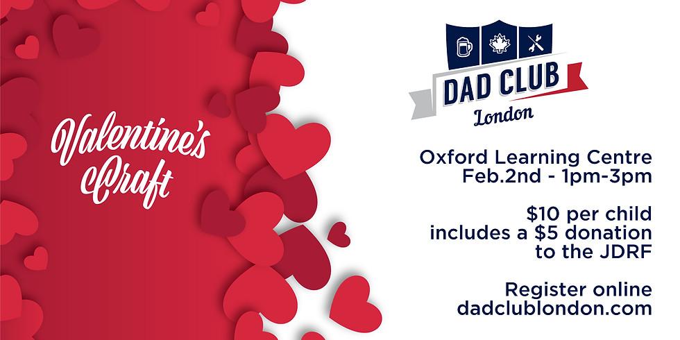 Valentine's Craft with Dad