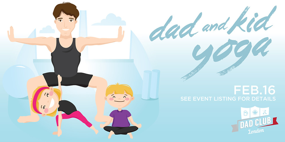 Dad and Kid Yoga - Session 2
