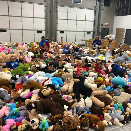 Teddy Bear Toss 2018